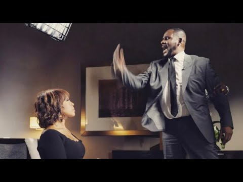 R. Kelly Freaks Out At Gayle King!